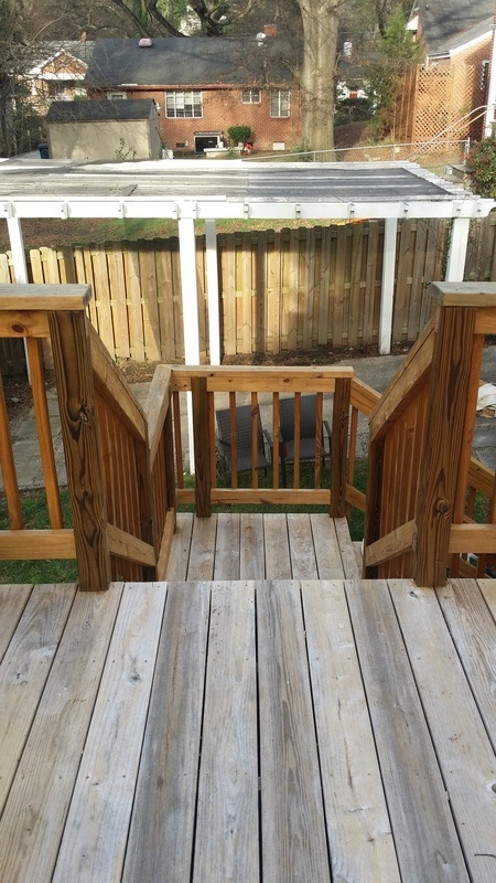 Deck Staining Job #2